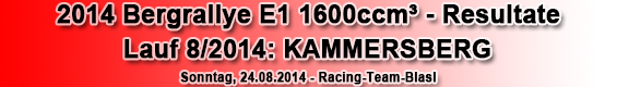 Racing-Passion.at Result 2014 Kammersberg